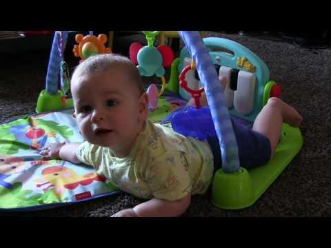 Alfombra Gimnasio de Actividades Piano Pataditas de Fisher Price Juguetes para bebés