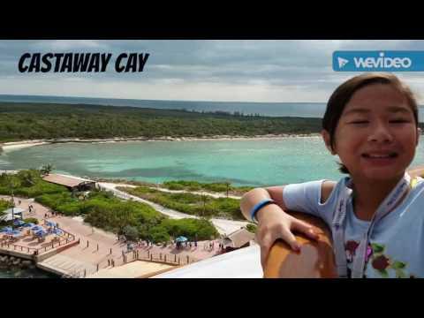 Disney Dream Cruise, Castaway Cay 3-2017