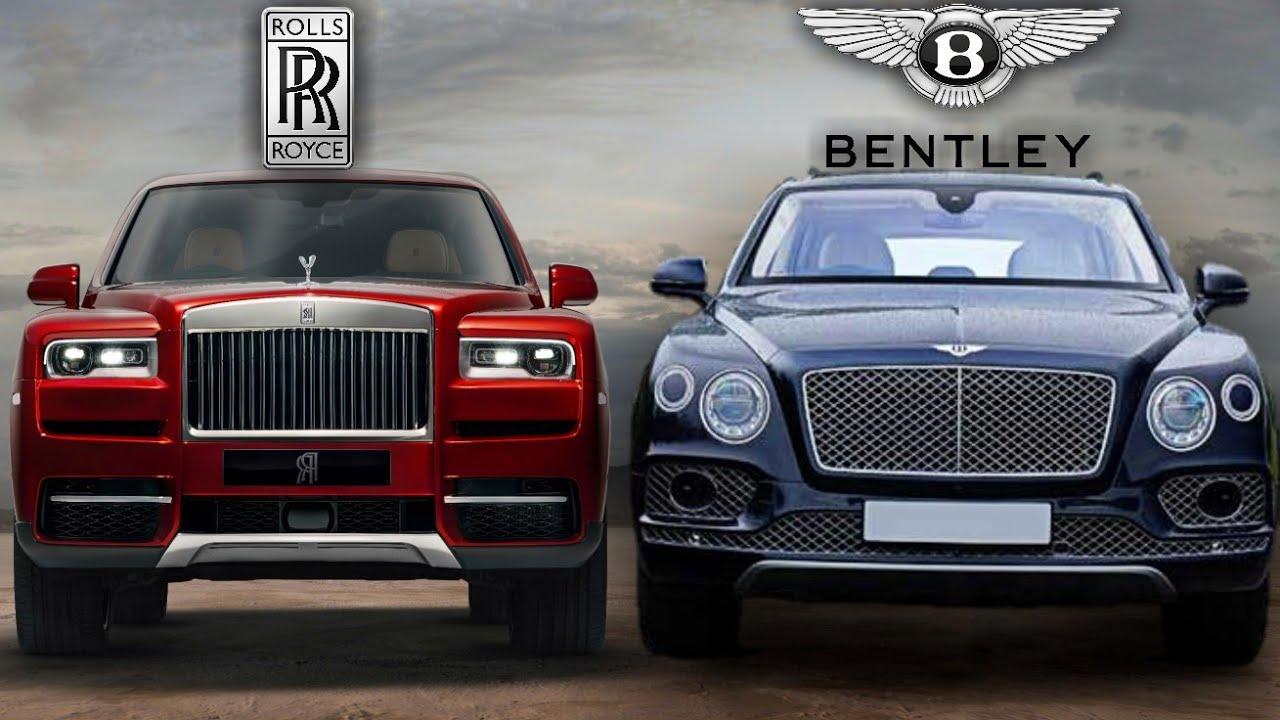 bentley bentayga vs rolls royce cullinan - luxury suv - youtube