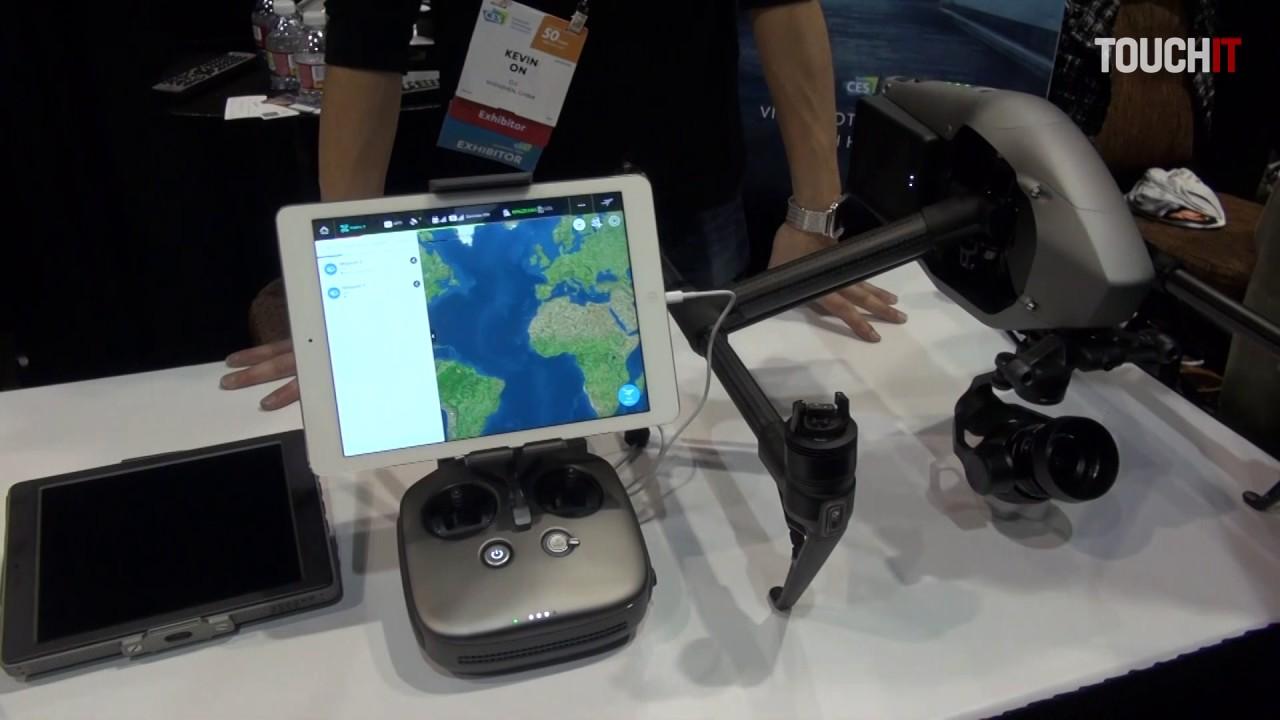 DJI predstavuje svoje drony