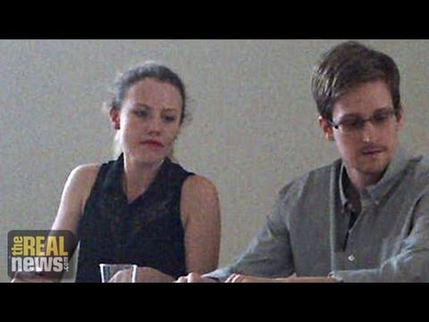 Sarah Harrison and Jeremy Hammond: People Have A Right to the Truth