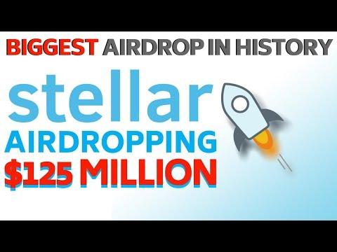 Stellar XLM to Airdrop $125 MILLION - Today's Crypto News