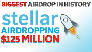 Stellar XLM to Airdrop $125 MILLION - Today's Crypto News