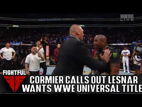 Daniel Cormier Calls Out Brock Lesnar After UFC 230, Wants WWE Universal Title