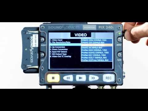 Sound Devices PIX 240i overview