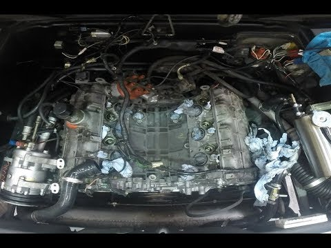 delorean engine valley of death (vod) strip down and clean - time lapse