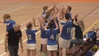 Korfbal: Kv Zwaluwen - Olympia Twijzel