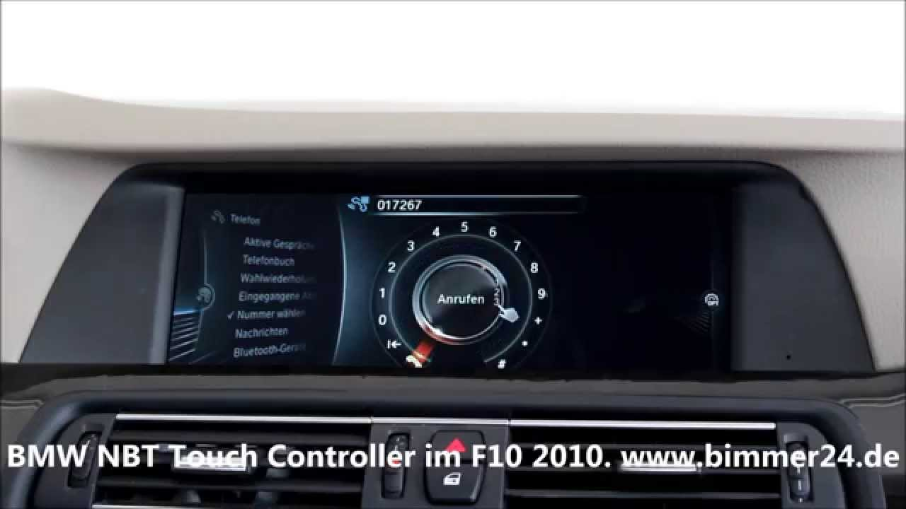 bmw navigation professional nbt mit touch controller im. Black Bedroom Furniture Sets. Home Design Ideas