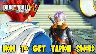 Dragon Ball Xenoverse: How Unlock Tapion/Future Trunks Sword & Death Ball