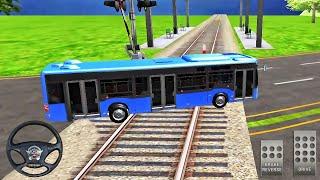 Bus Simulator Game 2021 - Coach Bus in Train - Best Android GamePlay screenshot 5