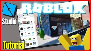 ROBLOX STUDIO TUTORIAL #1 ✅( How to use and start Creating Games )