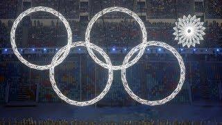 видео: Олимпиада 2014. Нераскрывшееся кольцо.
