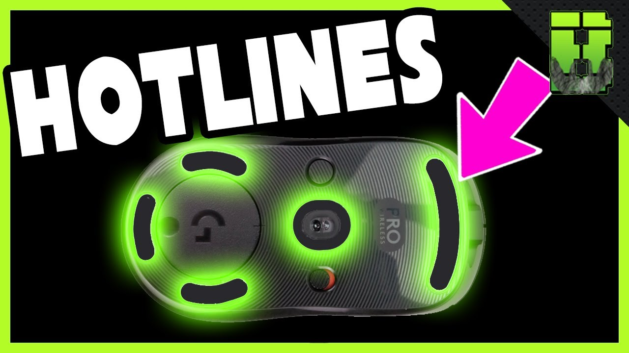 Logitech G Pro Wireless Mouse Hotline Skates/Feet Install