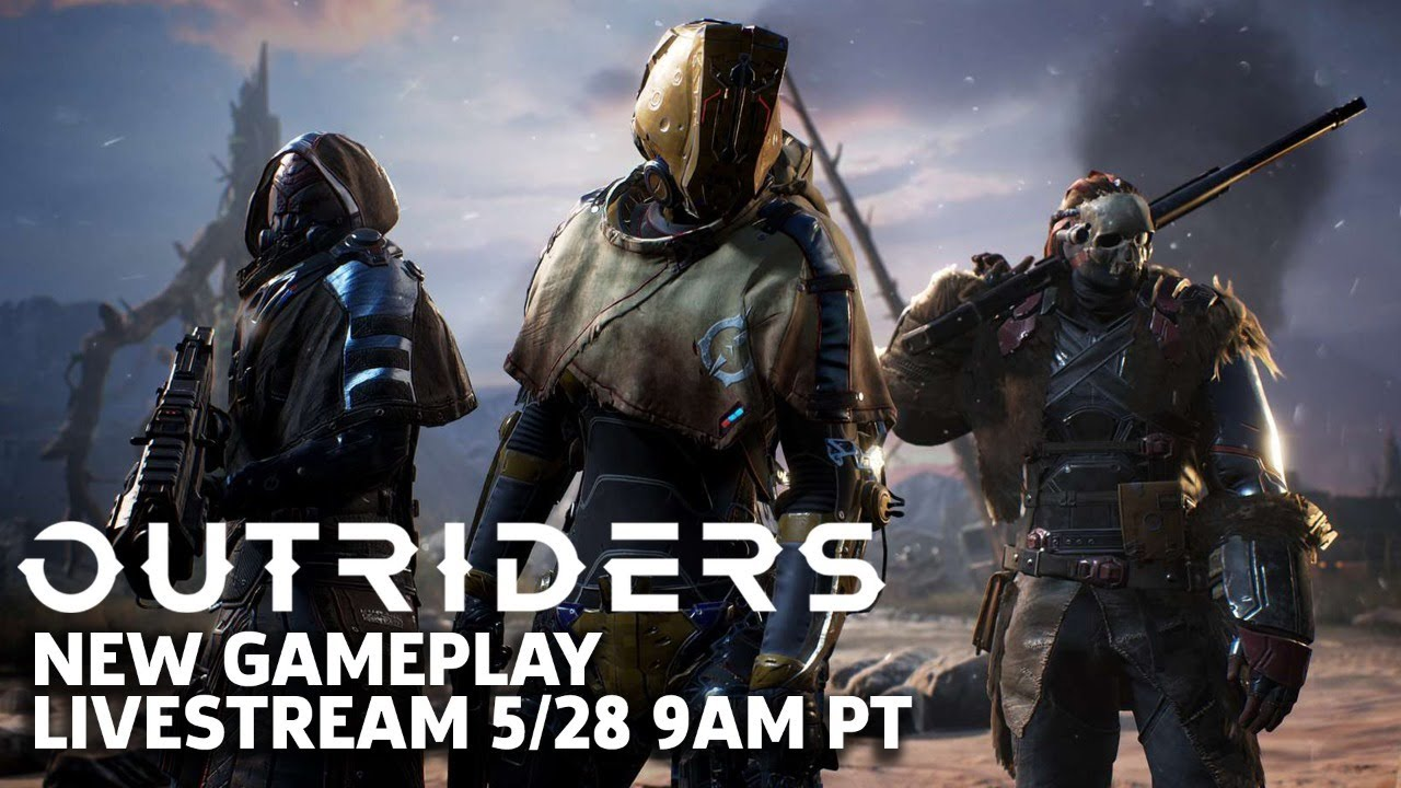 Outriders New Gameplay Livestream | Outriders Broadcast #1 thumbnail