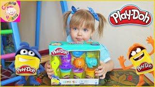 ОБЗОР Игровой набор Play-Doh Подводный мир