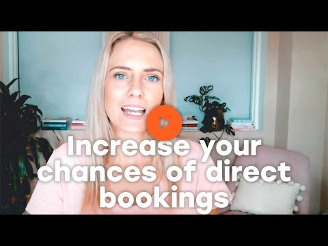 Increase your chances of direct bookings
