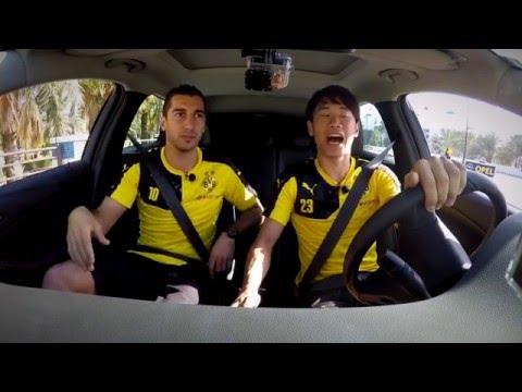 Opel ASTRA Challenge: Henrikh Mkhitaryan vs Shinji Kagawa