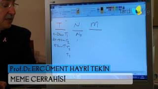 MEME KANSERİNDE EVRELEME- Prof. Dr. Ercüment Hayri Tekin