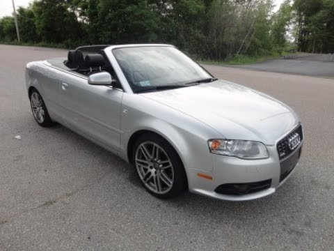 2009 Audi A4 Convertible Video Test Drive