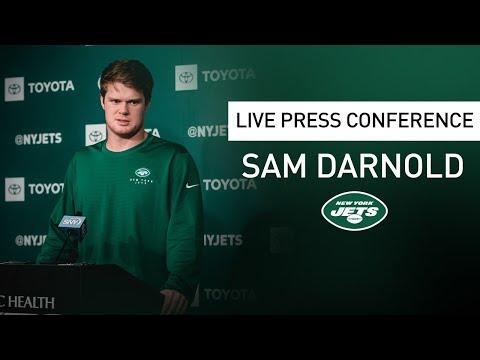 Sam Darnold Press