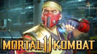 """EPIC RED NINJA SUB-ZERO! - Mortal Kombat 11 """"Sub-Zero"""" Gameplay"""