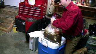 Brining & Smoking A Turkey With The Brinkmann Gourmet Electric Smoker