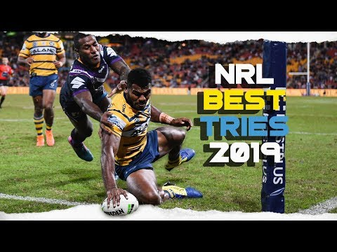 THE BEST NRL TRIES 2019
