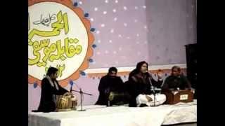 ISHTIAQ Ali 2012 - 1st prize winner All Pakistan Music conference Alhamra Lahore