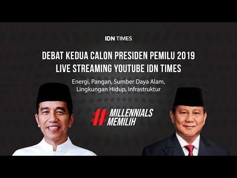 FULL! Debat Kedua Capres 2019 - Jokowi vs Prabowo Subianto -