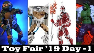 Toy Fair '19 Day -1: Marvel Legends, TMNT, Storm Collectibles, Transformers/Ghostbuster and more!