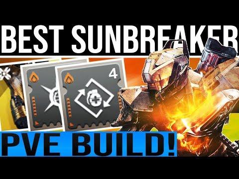 Destiny 2 Shadowkeep. BEST TITAN SUNBREAKER PvE BUILD!! Exotics, Mods, Weapons & More!
