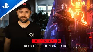 Hitman 3 - Deluxe Edition Unboxing | PS5, PS4, PS VR