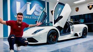 Taking Delivery Of My Friend'S Lamborghini Murcielago!