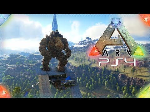 Ein Stein Golem Kommt Ins Haus Ark Survival Evolved Playstation