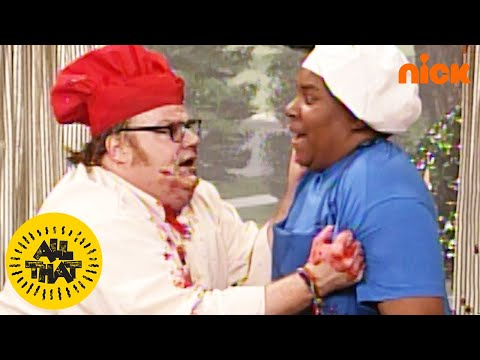 "Chris Farley vs. Kenan Thompson on All That's ""Cooking with Randy!"" 