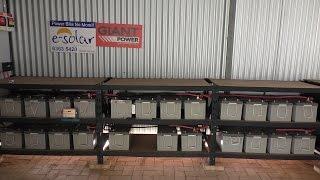 Off Grid - 48v battery bank maintenance - Problem found ( 1 )