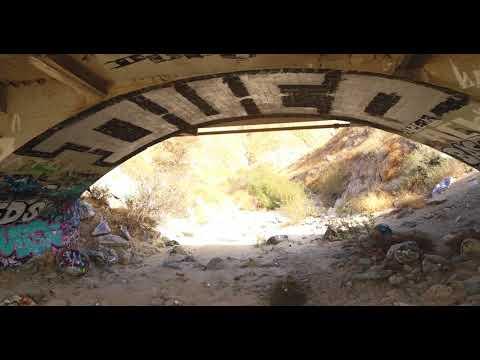 Massacre Canyon Trail San Jacinto California