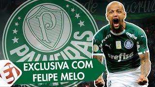 """FELIPE MELO: """"80% DOS CARTÕES QUE EU TOMO É POR CAUSA DO NOME"""" - Exclusiva com o craque do Palmeiras"""