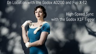 Off Camera Flash with the Fuji X-T2 - Part 3 - Godox AD200 on Location
