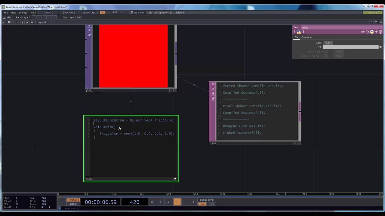Touchdesigner Vimeo