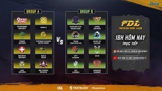 FDL: Vòng loại - Master | VirusX, RM5S Dark, QTV Gaming, GameHome, VGS | Bảng A vs Bảng B