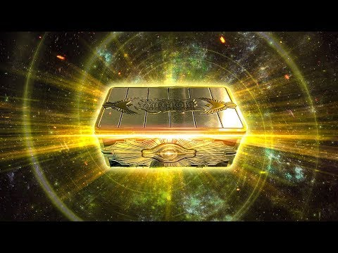*new*-yugioh-gold-sarcophagus-2019-tin-opening-&-review!-best-konami-product-ever?!