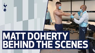 BEHIND THE SCENES | MATT DOHERTY'S FIRST DAY AT SPURS