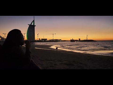 Sunset by the beach @Umm Suqeim 3 park