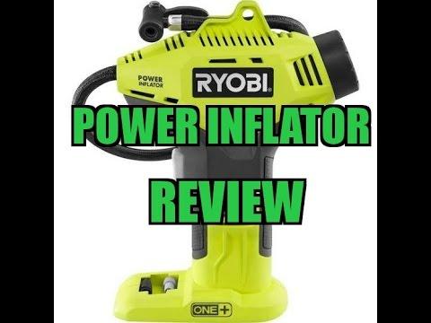 Power Inflator Kit Ryobi 18-Volt ONE