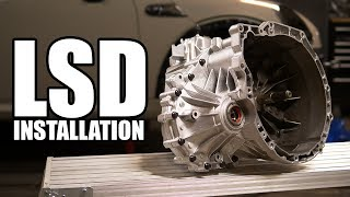 How to Install a Limited Slip Differential in a Transaxle