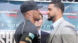 INTENSE!! ANTHONY JOSHUA v DOMINIC BREAZEALE HEAD TO HEAD / IBF HEAVYWEIGHT WORLD TITLE CLASH