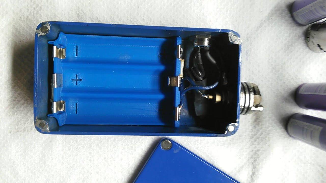 triple 18650 series hand made box mod youtube diy box mod wiring diagram triple series box mod wiring diagram [ 1280 x 720 Pixel ]