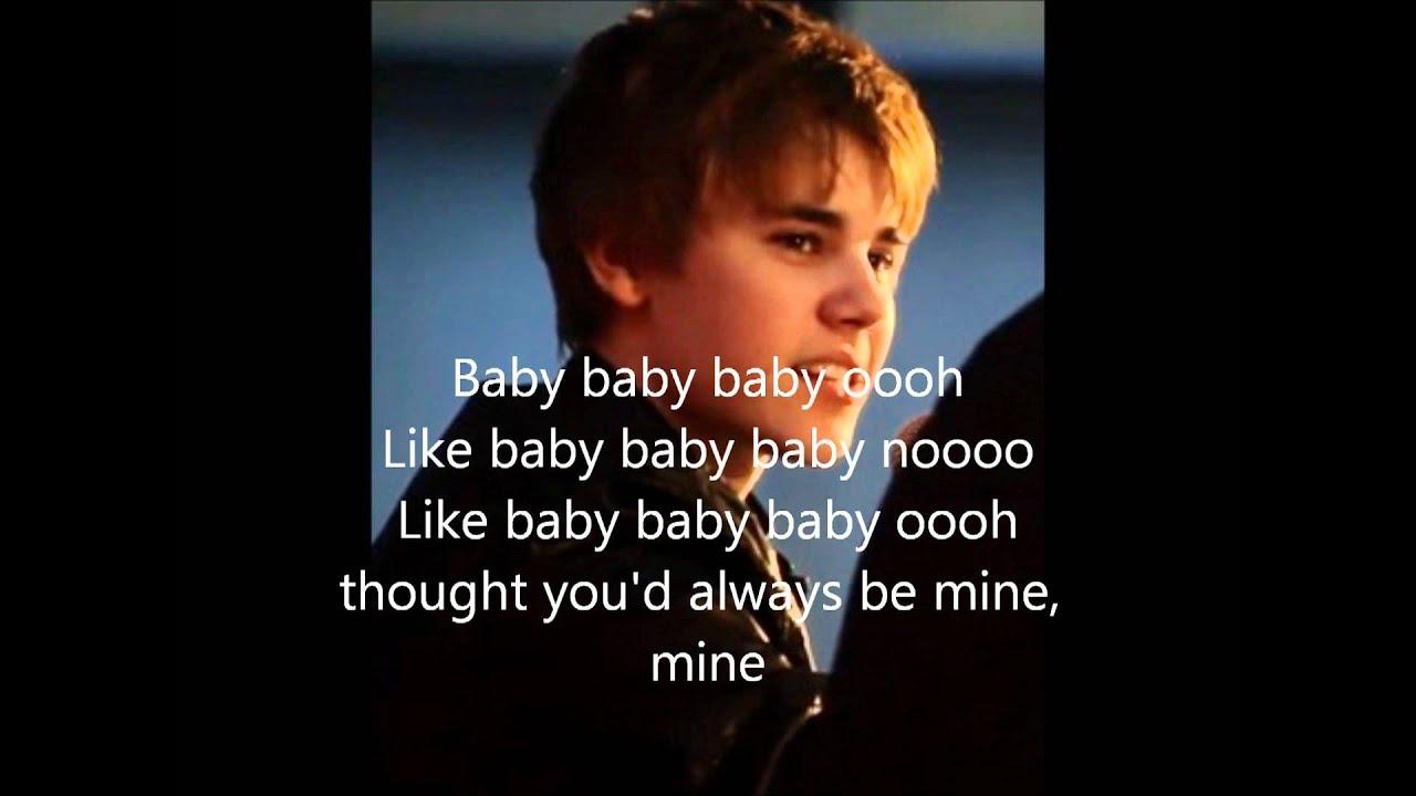 baby justin bieber foto's + lyrics - YouTube