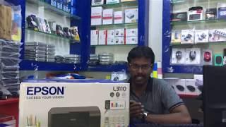 Epson L3110 Printer Installation Hindi